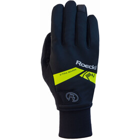 Roeckl Villach Gloves black/yellow